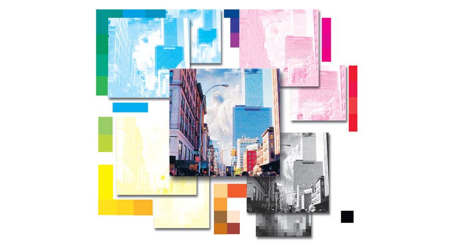 Kleur opbouw CMYK